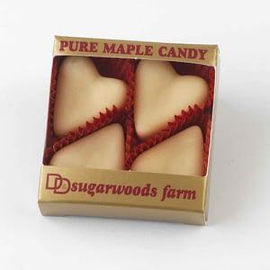 Vermont Maple Candy Hearts - D&D Sugarwoods Farm - Glover, Vermont