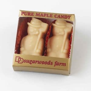 Vermont Maple Candy Snowmen - D&D Sugarwoods Farm - Glover, Vermont