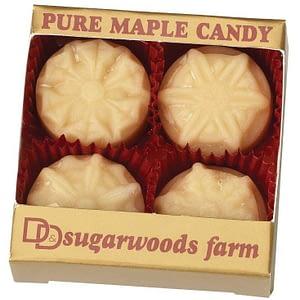 Vermont Maple Candy Snow Flakes - D&D Sugarwoods Farm - Glover, Vermont