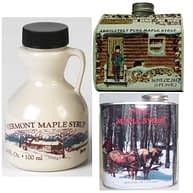 Vermont Maple Syrup in Plastic Jugs & Tins - D&D Sugarwoods Farm - Glover, Vermont