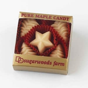 Vermont Maple Candy Trees & Star - D&D Sugarwoods Farm - Glover, Vermont