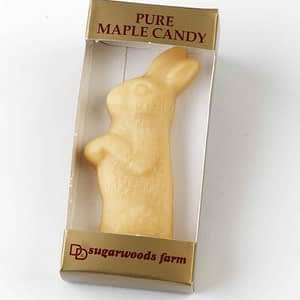 Maple Candy Rabbit - (1) - D&D Sugarwoods Farm - Glover, Vermont