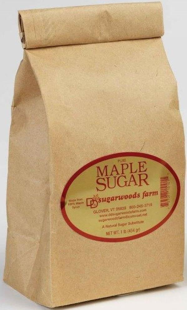 Vermont Maple Sugar in bag - D&D Sugarwoods Farm - Glover, Vermont