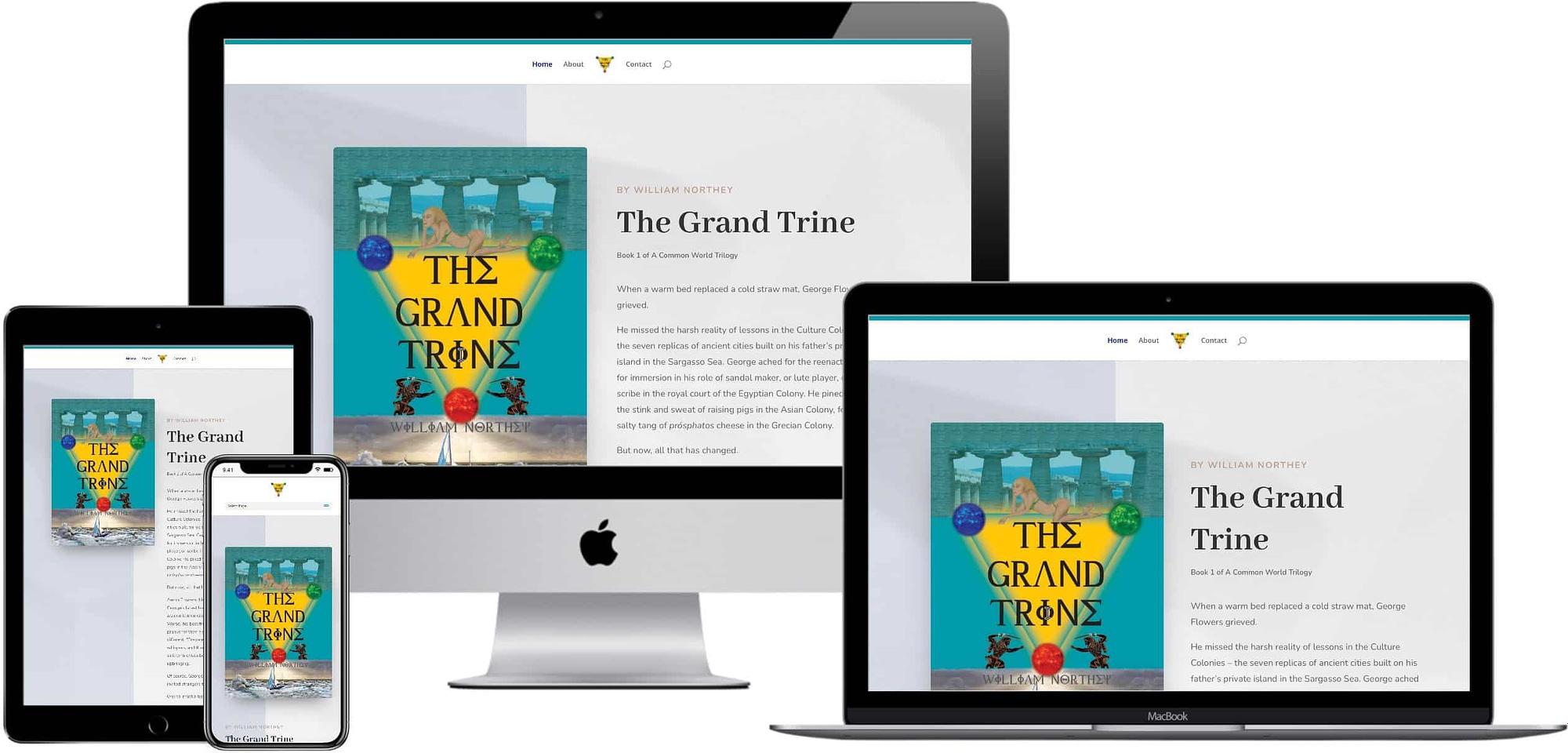 Responsive Web Design - The Grand Trine - William Northey